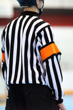 Arbitro del hokey Fotografia Stock