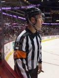 Arbitro del NHL Fotografia Stock Libera da Diritti