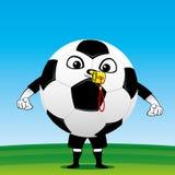 Arbitro del pallone da calcio Fotografia Stock