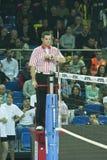 Arbitro di pallavolo Fotografia Stock Libera da Diritti