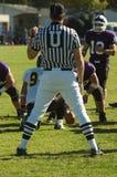 Arbitro durante il gioco Fotografia Stock Libera da Diritti