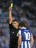 Arbitro Jesus Gil Manzano Immagine Stock