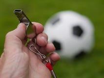 Arbitro Whistle Immagine Stock Libera da Diritti