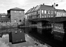 Arboga. A photo of Arboga river Stock Images