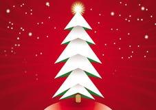 Arbol de Navidad Fotos de archivo libres de regalías