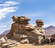 Arbol de Piedra (δέντρο πετρών) είναι ένας σχηματισμός βράχου στο BO Στοκ Εικόνες