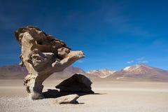 Arbol de Piedra, Боливия Стоковое Изображение RF