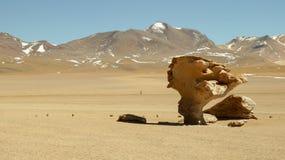 Arbol de Piedra in Bolivia. Rock formation royalty free stock images