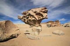 Arbol de Piedra o  de piedra del árbol, Bolivia Fotografía de archivo
