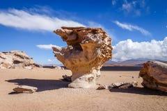 Arbol de Piedra in Siloli desert, sud Lipez reserva, Bolivia. Arbol de Piedra in Siloli desert, sud Lipez reserva Eduardo Avaroa, Bolivia Stock Photography