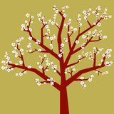 Arbol (vector) royalty free stock photos