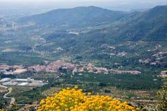 Arboli Town. In the Prades Mountains Tarragona Spain Stock Photo