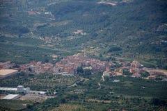Arboli Town. In the Prades Mountains Tarragona Spain Royalty Free Stock Photos