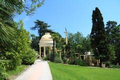 Arborétum à Sotchi Image libre de droits