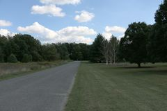 Arborétum national des Etats-Unis image libre de droits