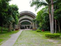 Arborétum tropical tropical et sous image stock