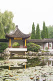 Arbor. Chinese ancient architecture . For walking, resting , fishing, enjoying the views Stock Photo