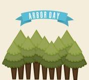 Arbor day. Over white background vector illustration vector illustration