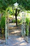 Arbor. Entrance into a garden Royalty Free Stock Photography