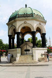 Arbor. Germany Arbor in Istanbul Turkey on the square Royalty Free Stock Image