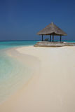 Arbor on Maldives beach. The arbor on Maldives beach Royalty Free Stock Photo