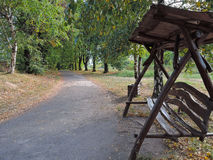 Arbor in park. Photo image of the arbor in park Stock Photography