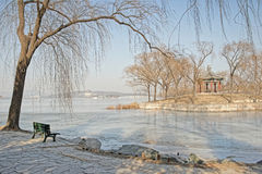 Arbor in the Summer palace. Of Beijing Stock Photography