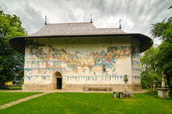Arbore-Kirche in Rumänien Stockfotografie