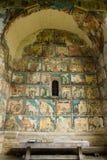 Arbore Monastery. The Arbore Monastery in Bukovina Royalty Free Stock Photo