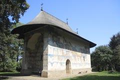 Arbore Monastery. The Arbore Monastery in Bukovina Royalty Free Stock Image