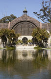 Arboretum in Balboa Park with Reflecting Pool Royalty Free Stock Photos