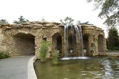 Arboretum in city Dallas. Landscapes   in arboretum, Dallas TX USA Stock Images