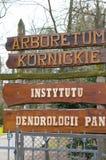 Arboretum park Stock Photos