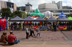 ARBORIA展示在奥克兰新西兰 免版税库存照片