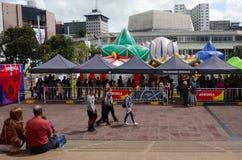 ARBORIA-show i Auckland Nya Zeeland Royaltyfria Foton