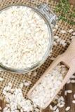 Arborio-Reis für Risotto lizenzfreie stockbilder