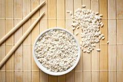 Arborio rice Stock Photo