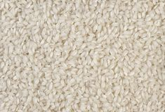 Arborio risotto short grain rice texture background. nutrition. bio. natural food ingredient.  stock photo