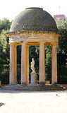 Arbour on labyrinth of Horta Royalty Free Stock Photos