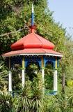 Arbour. Nikita Botanical Garden. Gazebo in the Lower Park. Nikita Botanical Garden. Crimea, Yalta Stock Photo