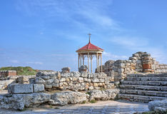 Arbour on ruins Stock Photography