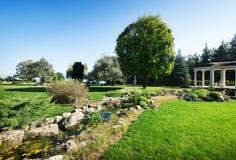 Arbour w parku Zdjęcie Royalty Free