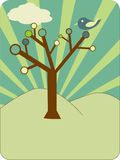 Arbre ?trange illustration stock