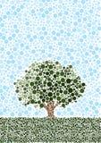 Arbre abstrait Image libre de droits