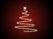 Arbre abstrait de Christmast illustration stock