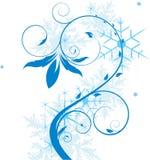 Arbre abstrait de l'hiver Photographie stock libre de droits