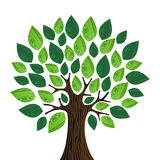 Arbre amical de concept d'Eco illustration libre de droits