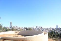 Arbre commémoratif à Jérusalem images libres de droits