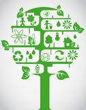Arbre d'écologie Images stock