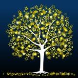 arbre d'étoile illustration de vecteur